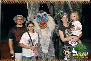 Alexia and family