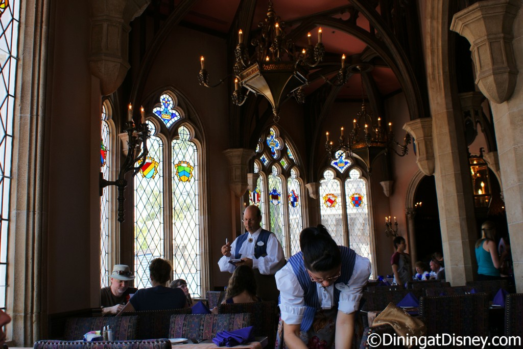 Cinderella's Royal Table dining room