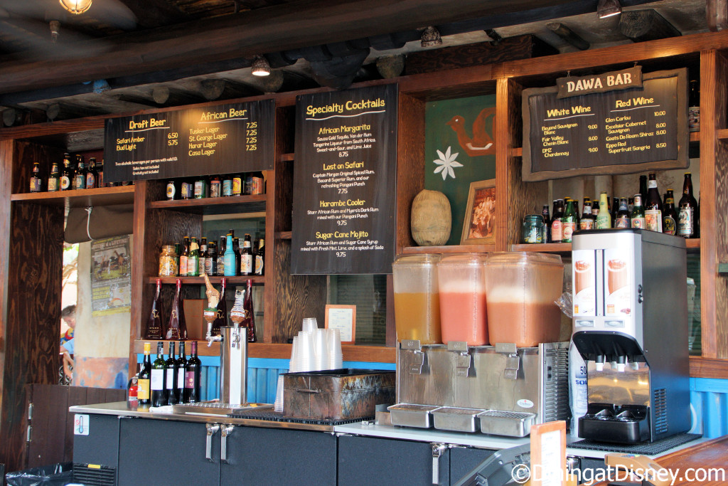 Dawa Bar in Africa at Disney's Animal Kingdom