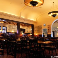 The Hollywood Brown Derby dining room