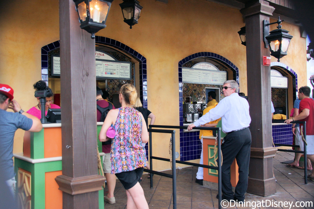 La Cantina de San Angel in the Mexico Pavilion at Epcot