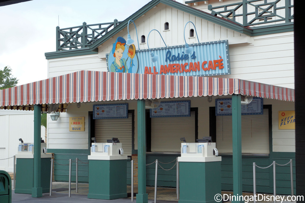 Rosie's All-American Café in Sunset Ranch at Disney's Hollywood Studios