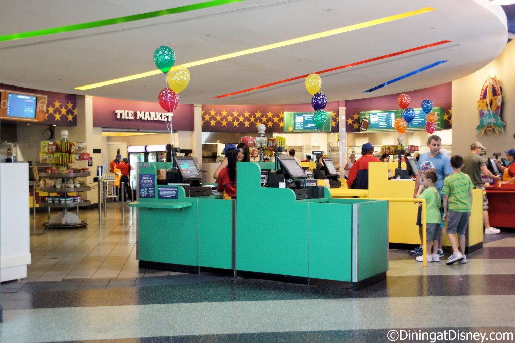 End Zone Food Court at All-Star Sports Resort