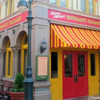 Mama Melrose Ristorante Italiano in Disney's Hollywood Studios is located near Muppet Vision 3D