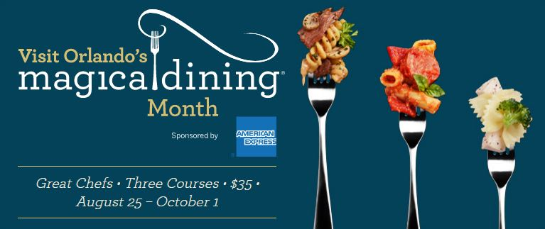 Visit Orlando's Magical Dining Month 2017