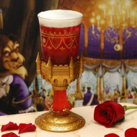 L'amour Vrais souvenir goblet from Be Our Guest Restaurant