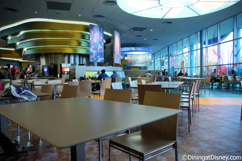 Landscape Of Flavors Dining Room At Disneys Art Animation Resort