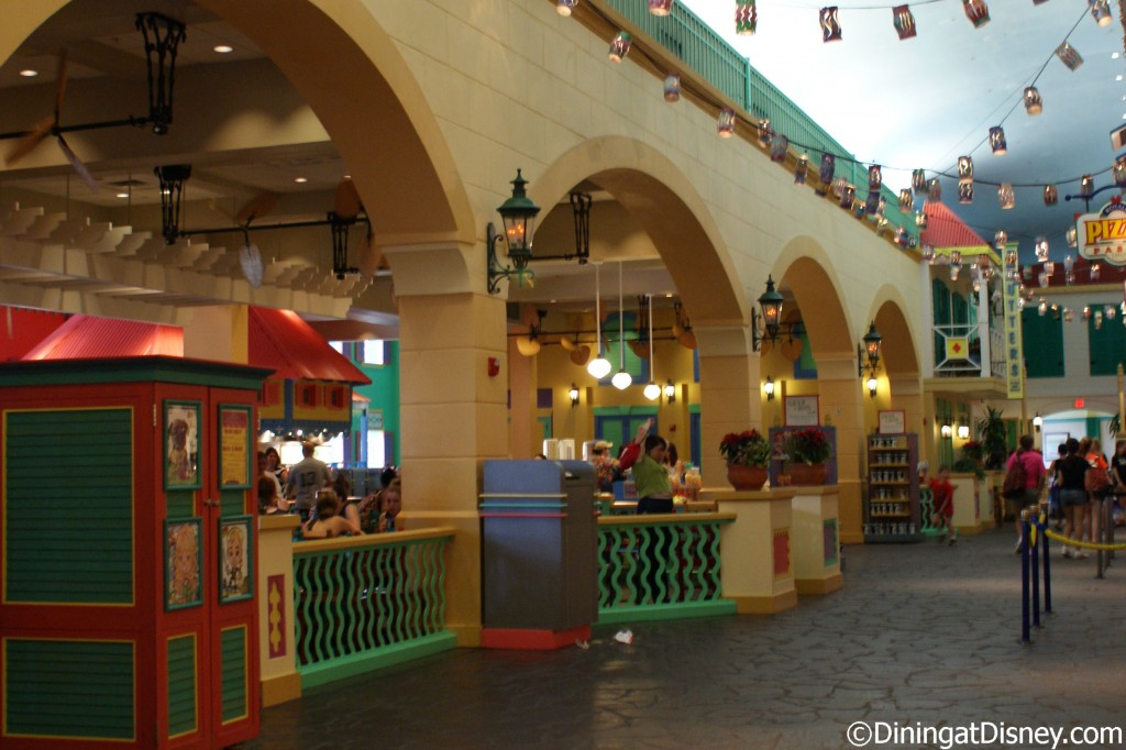 Old Port Royale Food Court