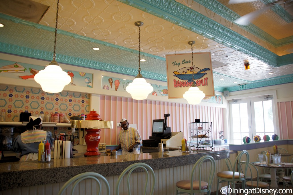 Beaches and Cream Soda Shop at Disney's Beach Club Resort