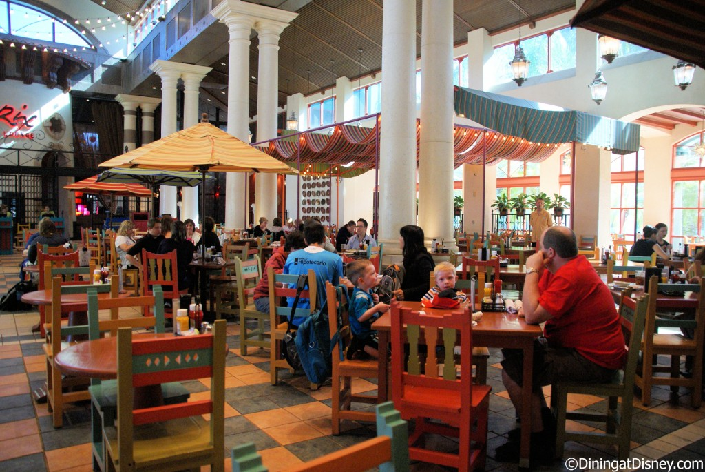 Pepper Market dining area