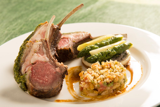 Monsieur Paul - rack of lamb