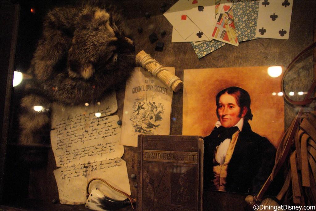 Trail's End Davy Crockett deco