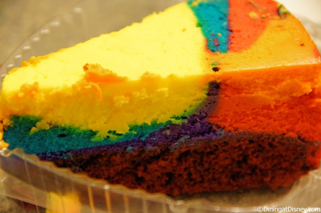 Everything POP - tie-dyed cheesecake