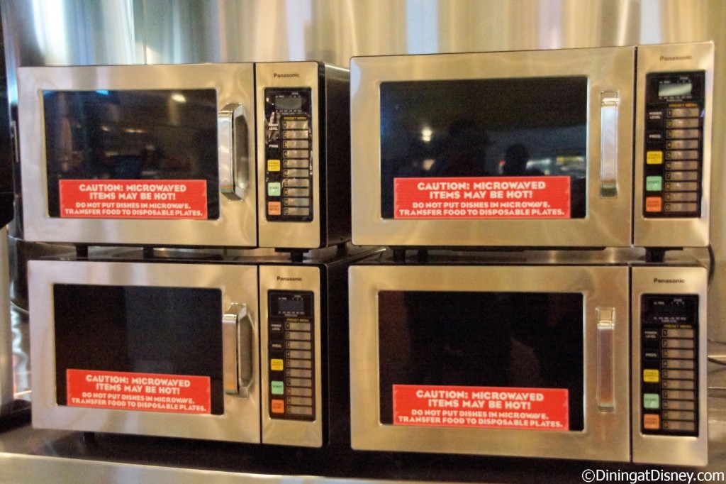 Microwaves at Landscape of Flavors