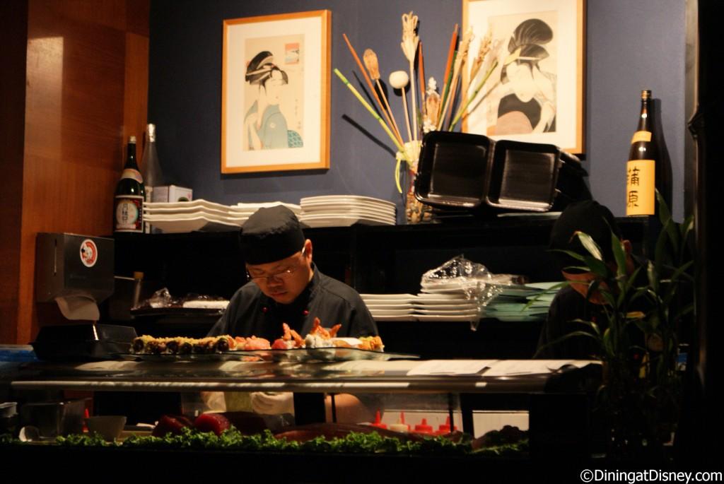 Kimonos - sushi chef