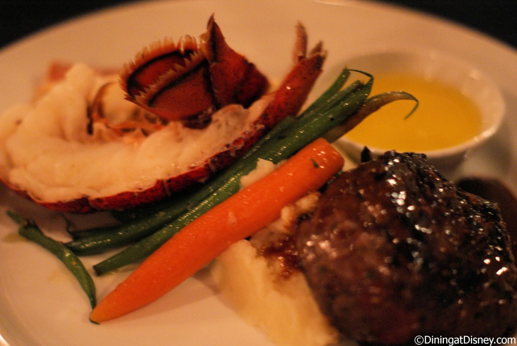 Narcoossee's Maine lobster and filet mignon
