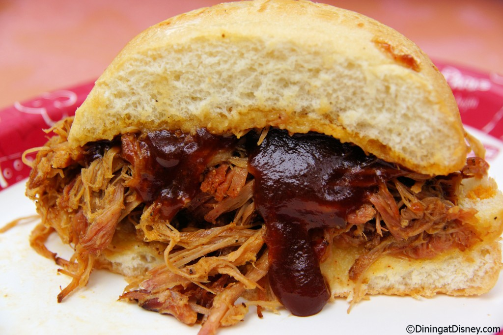 Flame Tree Barbecue - pork sandwich
