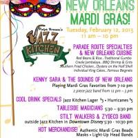 Ralph Brennan's Jazz Kitchen Mardi Gras 2013