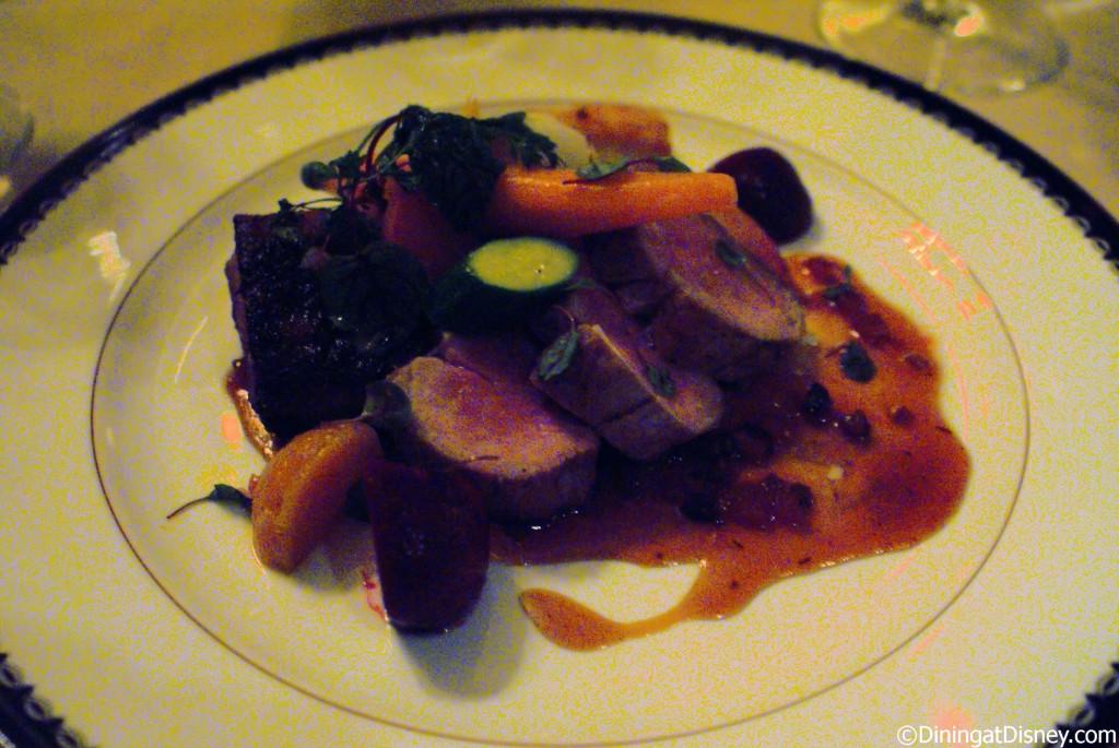 Victoria & Albert's - pork tenderloin