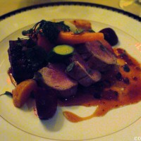 Victoria & Albert's - pork tenderloin