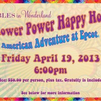 Flower Power Happy Hour