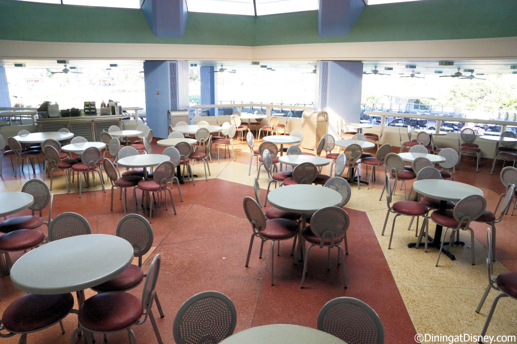 Tomorrowland Terrace seating