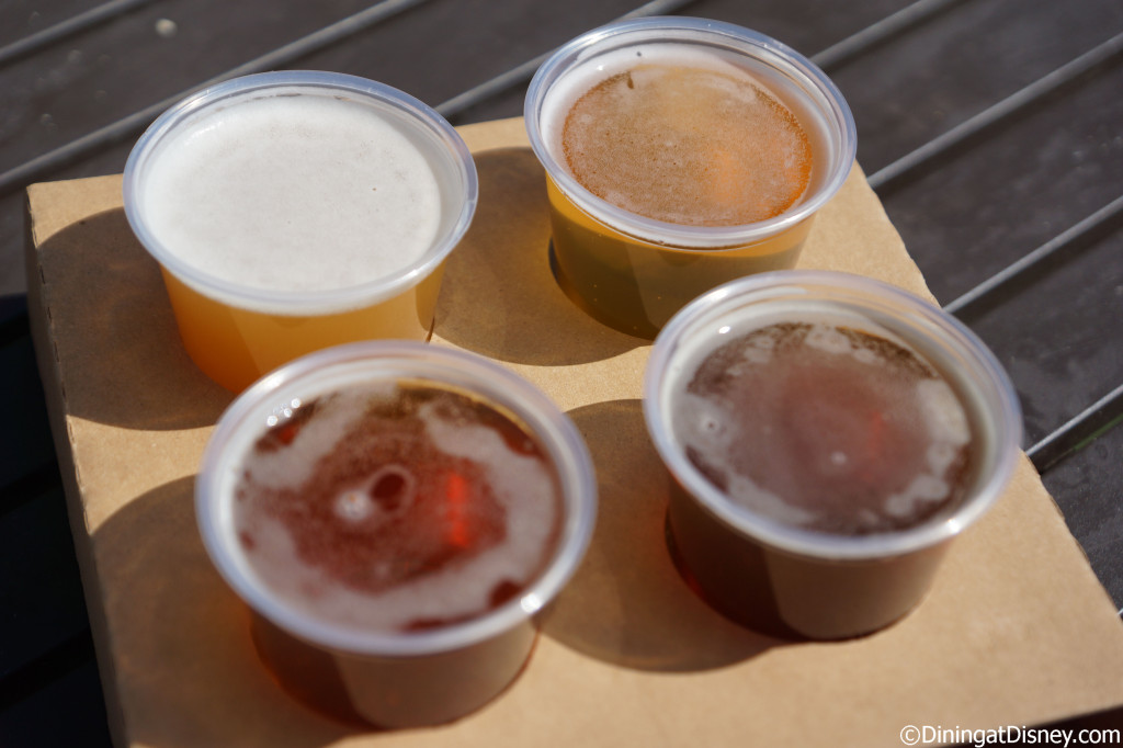 Bauernmarkt: Farmer's Market - Beer flight