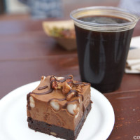 The Smokehouse - Rocky road brownie mousse and Blackwater porter