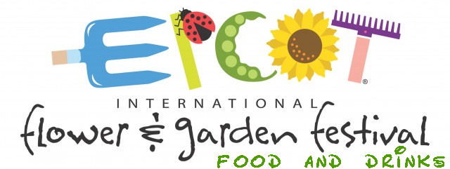 Epcot Flower and Garden Festival food and drinks logo
