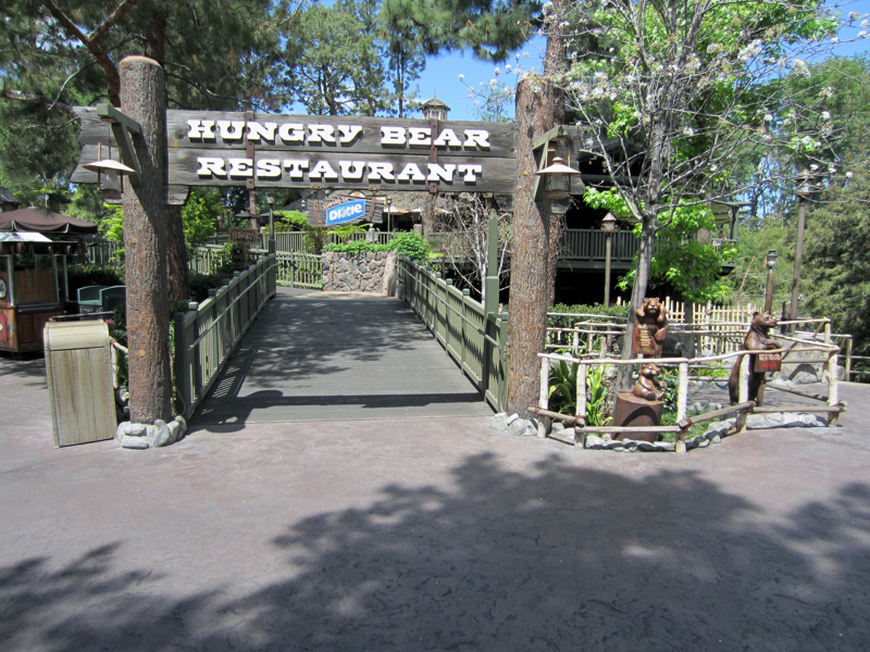 Hungry Bear Restaurant at Disneyland's Critter Country