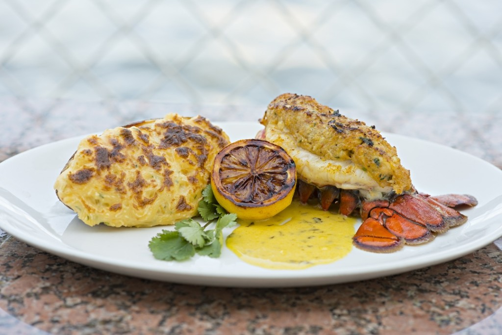 Fulton's Crab House - stuffed lobster tail