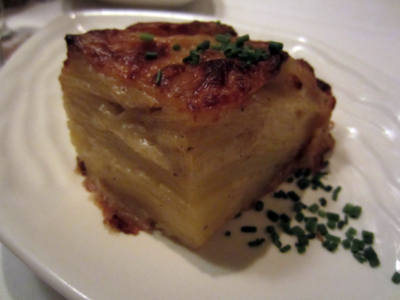 Chef's Potato Stack Au Gratin.  Nice cheesy flavor without being gooey.