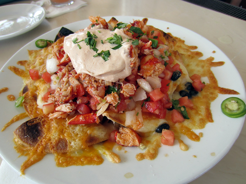 The Famous Lobster Nachos
