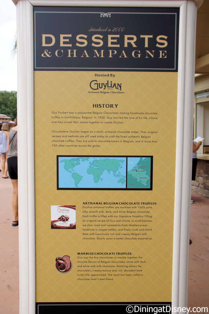 Desserts & Champagne