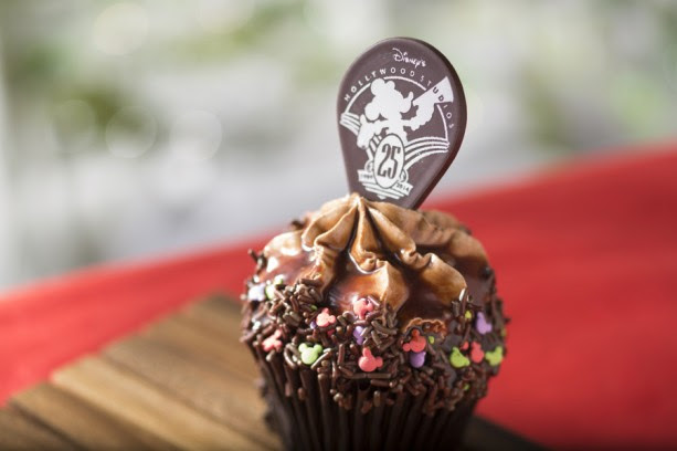 DHS 25th anniversary cupcake