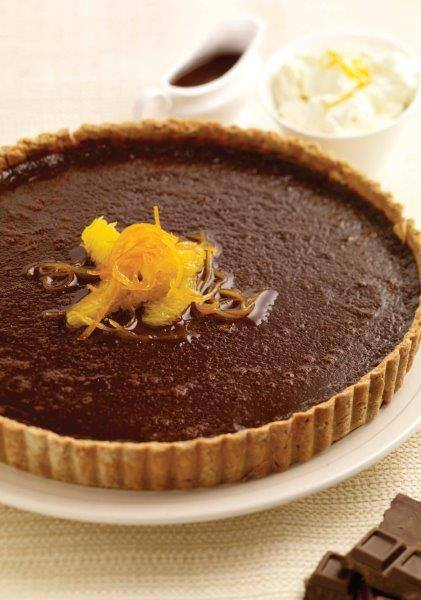Chocolate and Orange Tart - Raglan Road
