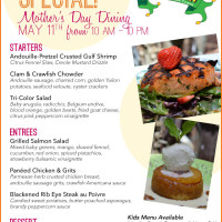 Ralph Brennan's Mother's Day 2014 specials
