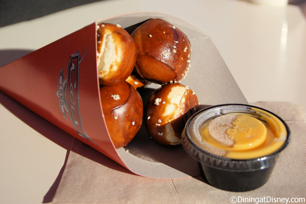 Cozy Cone Motel - pretzel bites