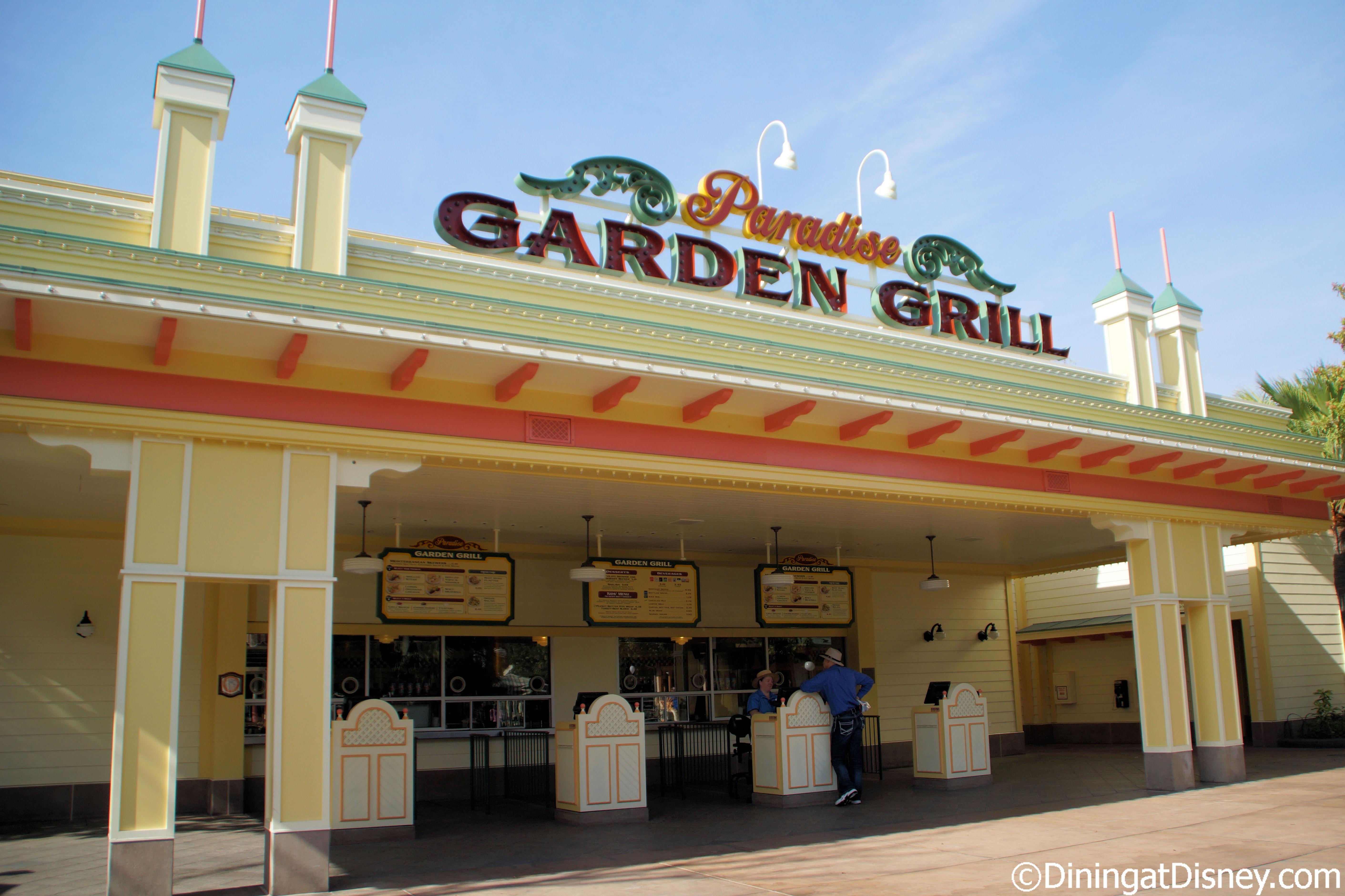 Paradise Garden Grill -