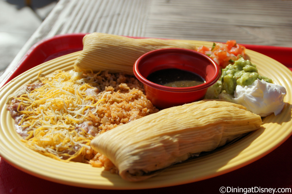 Cocina Cucamonga Mexican Grill - Chicken tamales
