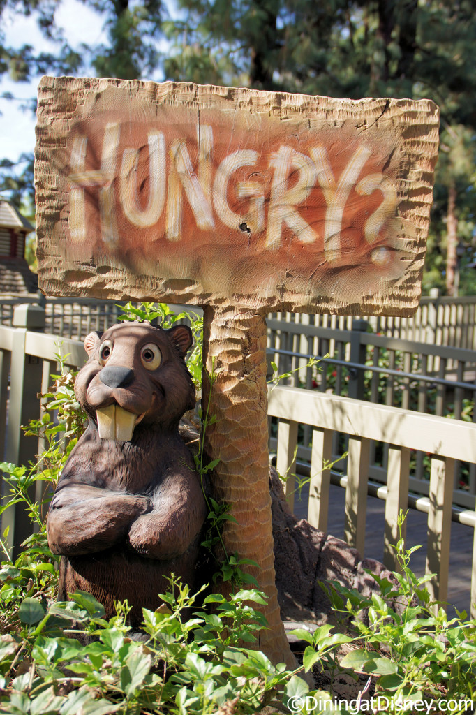 Hungry Bear Restaurant sign