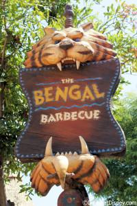 Bengal Barbecue - Disneyland
