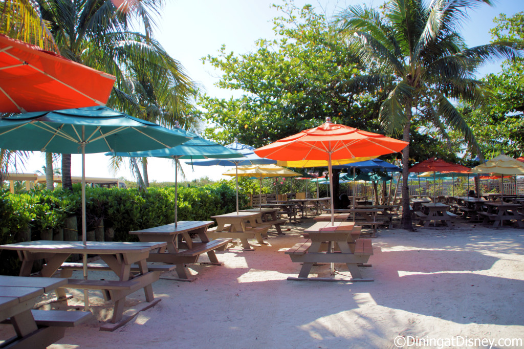Serenity Bay BBQ seating