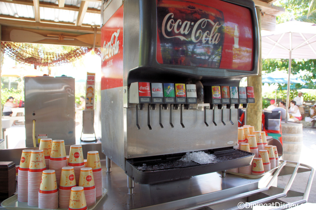 Coca-Cola drink station - Serenity Bay BBQ