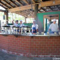 Serenity Bay BBQ grill station