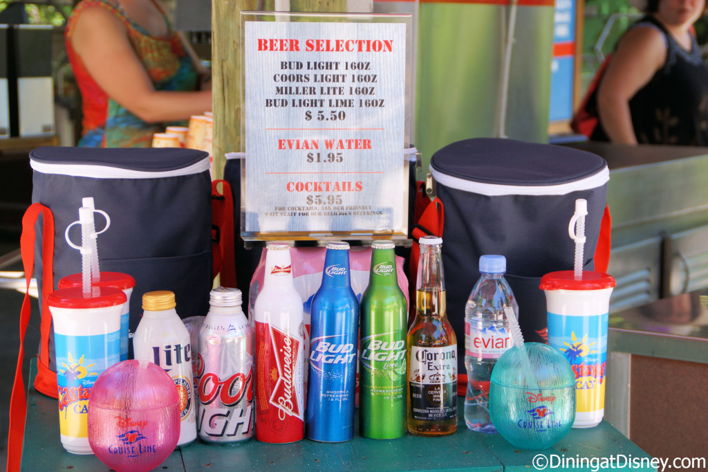 21 and up beverages - Serenity Bay BBQ