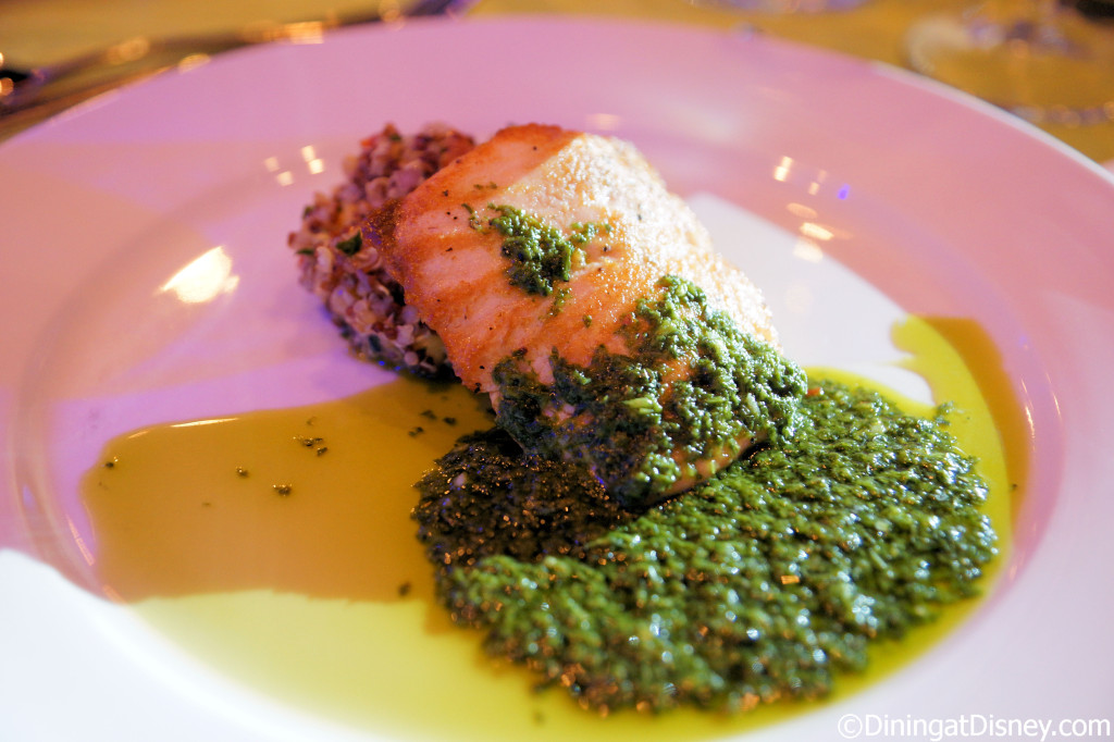 Roasted Verlasso Salmon - Patagonia - 2014 Epcot Food and Wine Festival