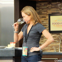 Andrea Robinson - Epcot Food and Wine Festival wine seminar