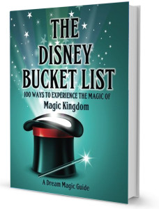 The Disney Bucket List book