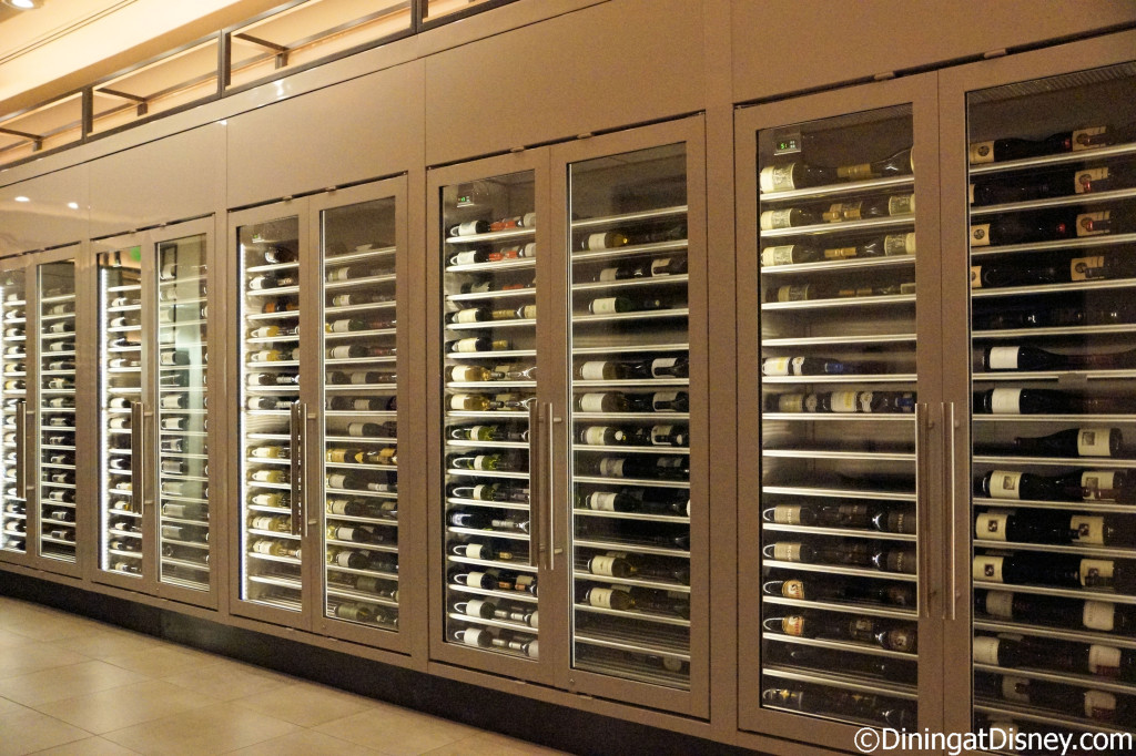Wine case - California Grill